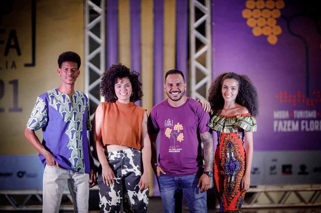 Daniel Gomes, Bell Lins, Bruno Kesselere Isa Lima. Foto: Jhon Henrique