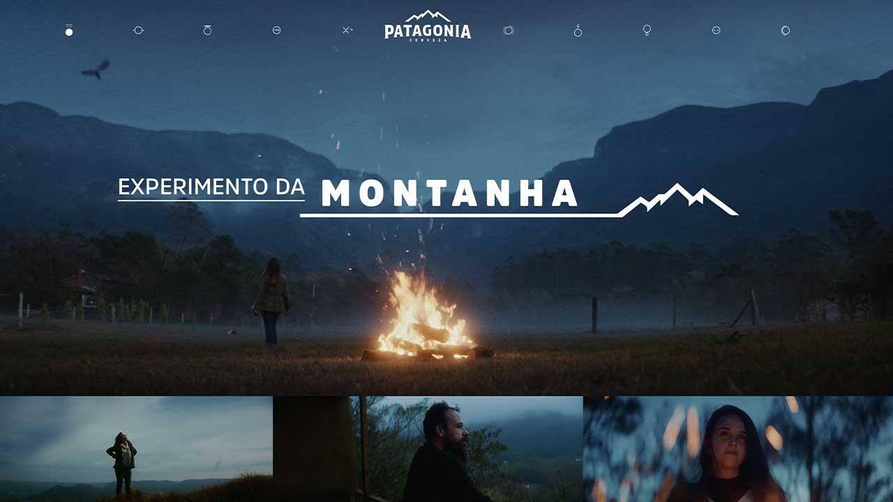 Cerveza Patagonia cria experimento social nas montanhas para reduzir níveis de estresse