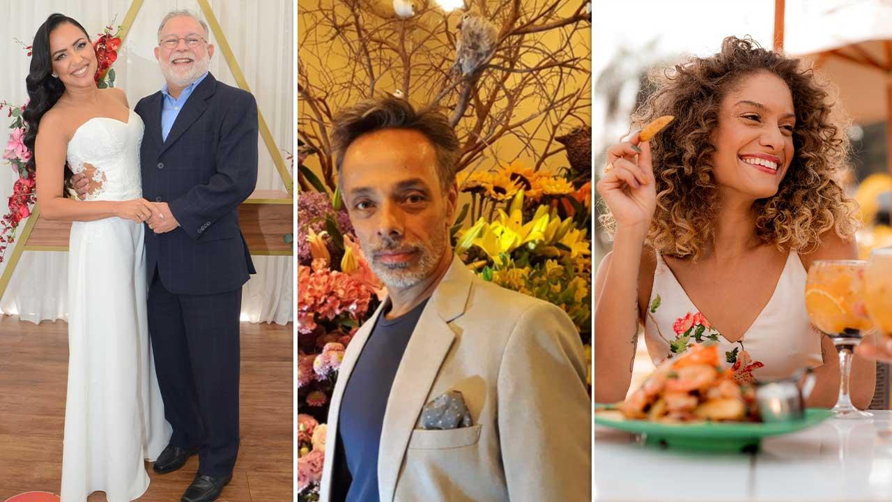 Casamento, aniversário, Festival de Primavera e mais...