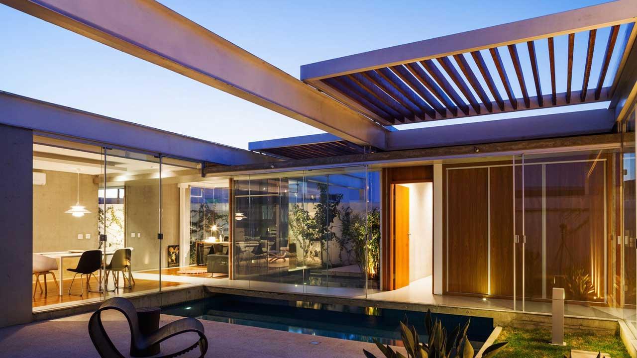 Já pensou em ter um lindo pergolado em sua casa?