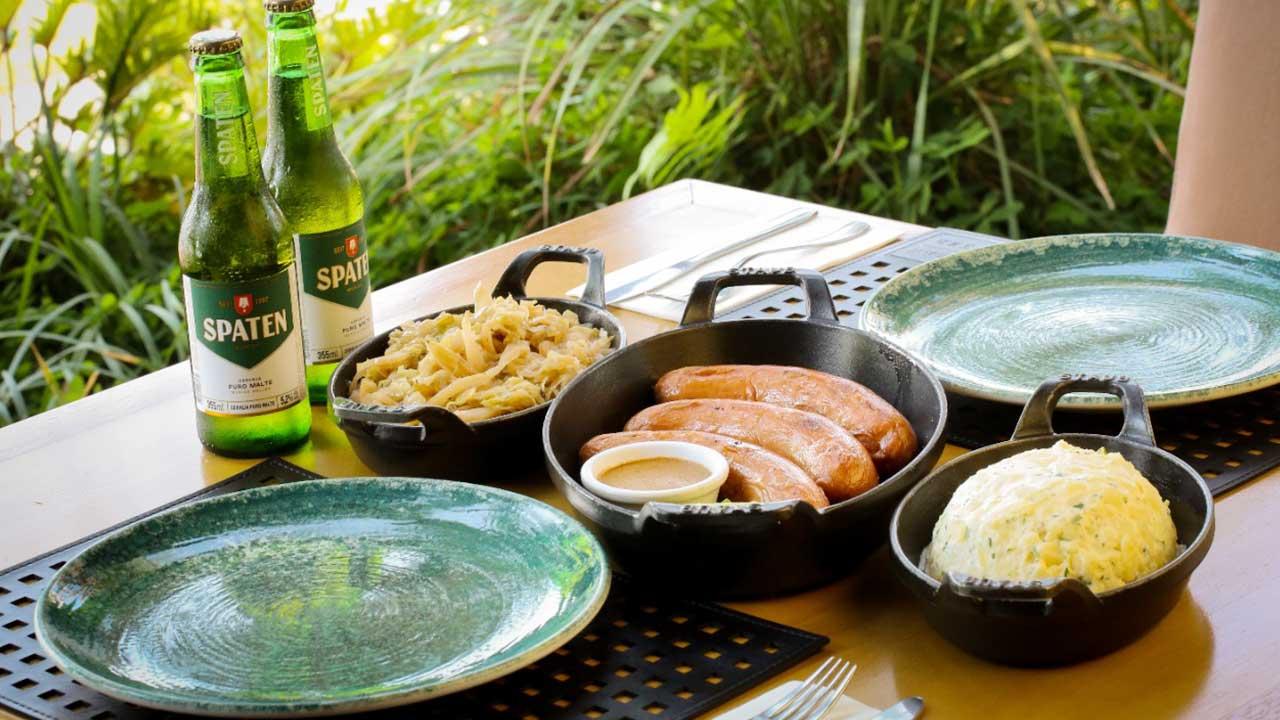Oktoberfest: Gran Bier celebra data cervejeira com prato especial