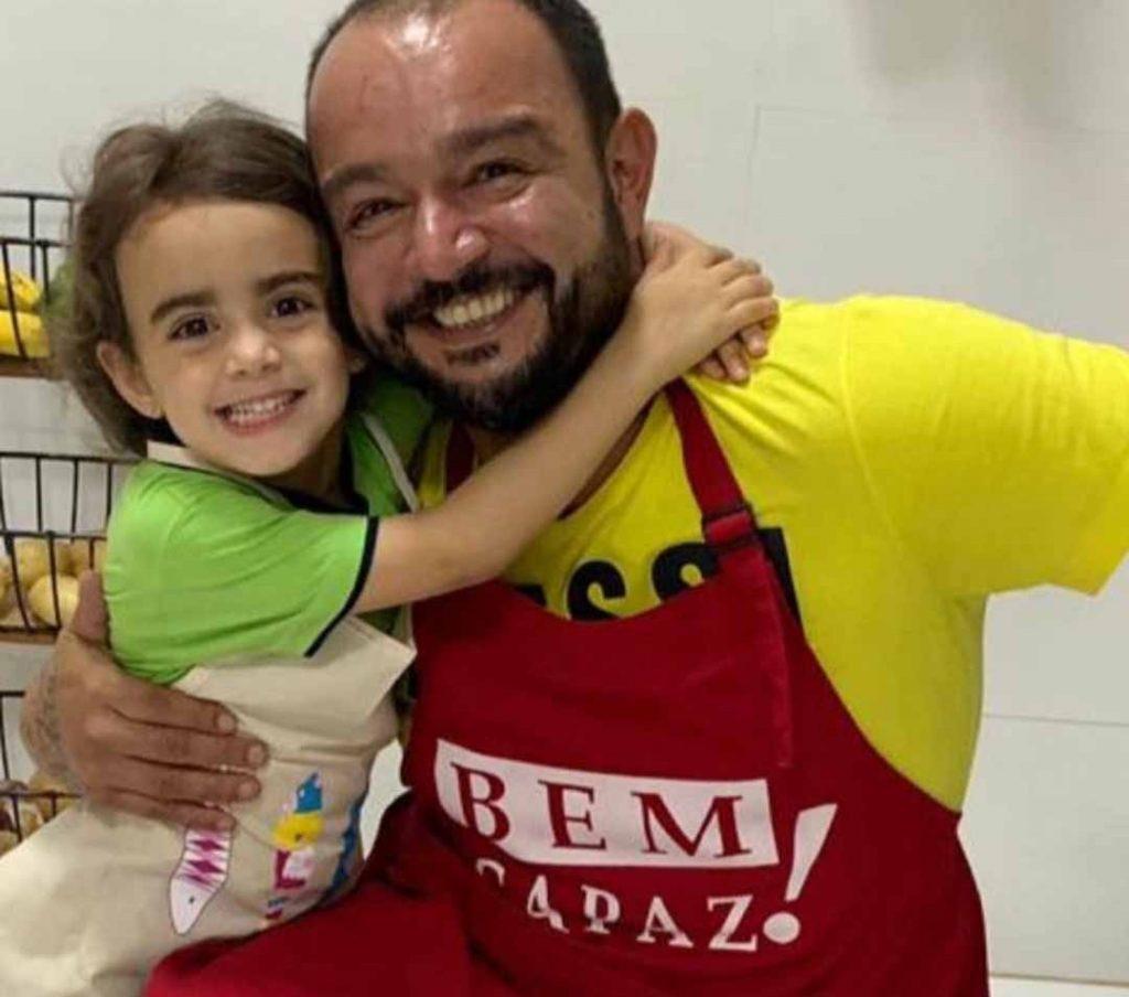 Dudu Camargo e Maria Eduarda. Foto: Divulgação