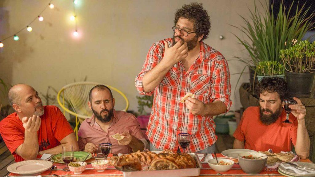 Esdras Nogueira e grupo. Foto: Ricardo Theodoro