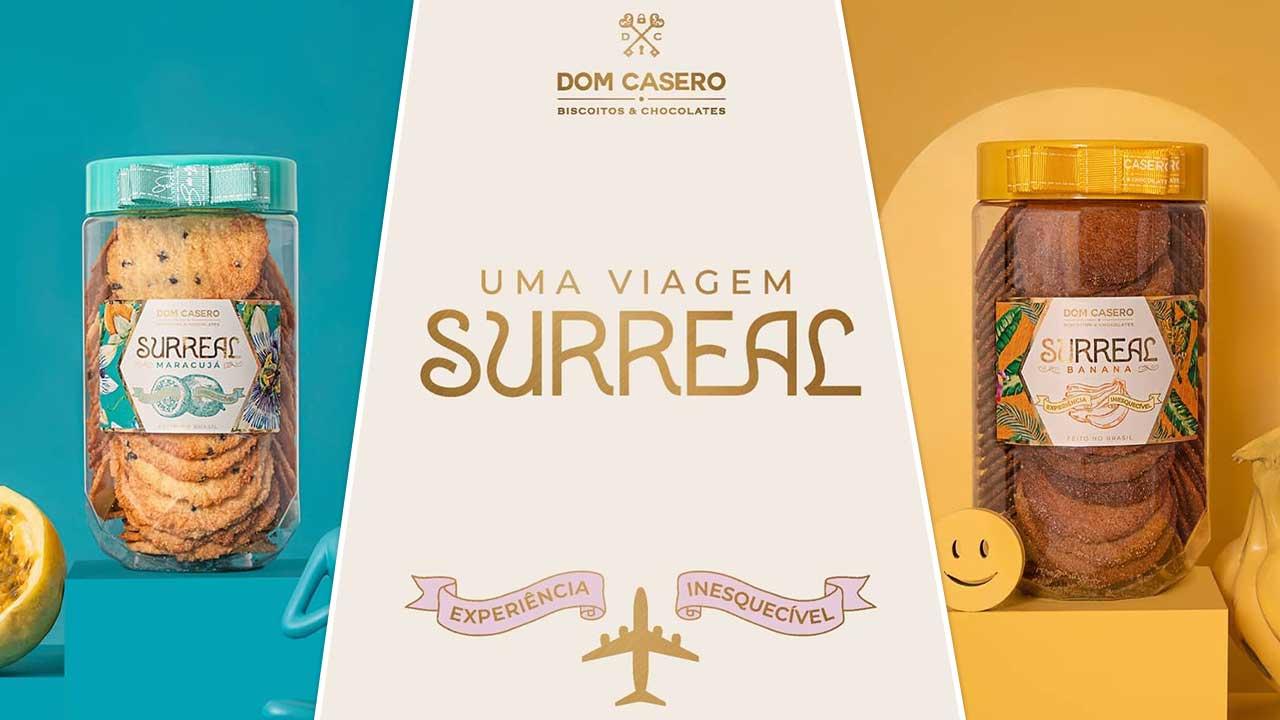 Biscoitos Dom Casero lança nova linha durante evento surreal em Brasília