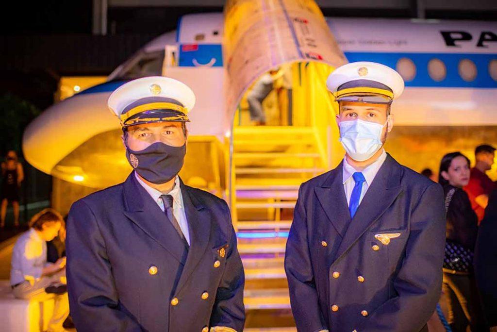 Pilotos PanAm - Lançamento Surreal. Foto: Hugo Barreto