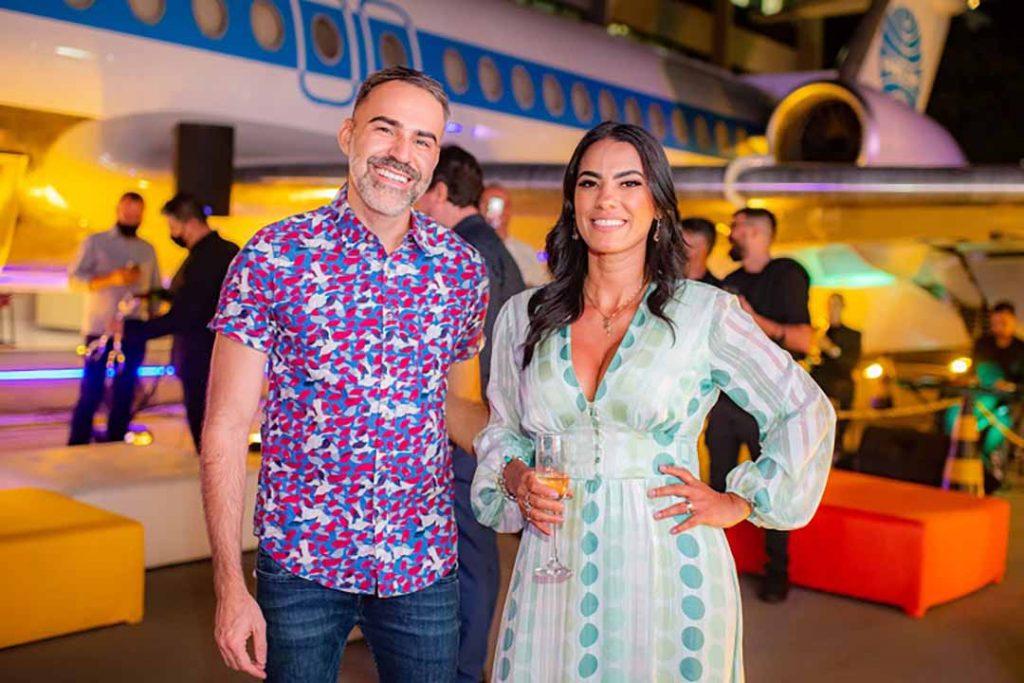 Thiago Malva e Tatiane Freitas - Lançamento Surreal. Foto: Hugo Barreto