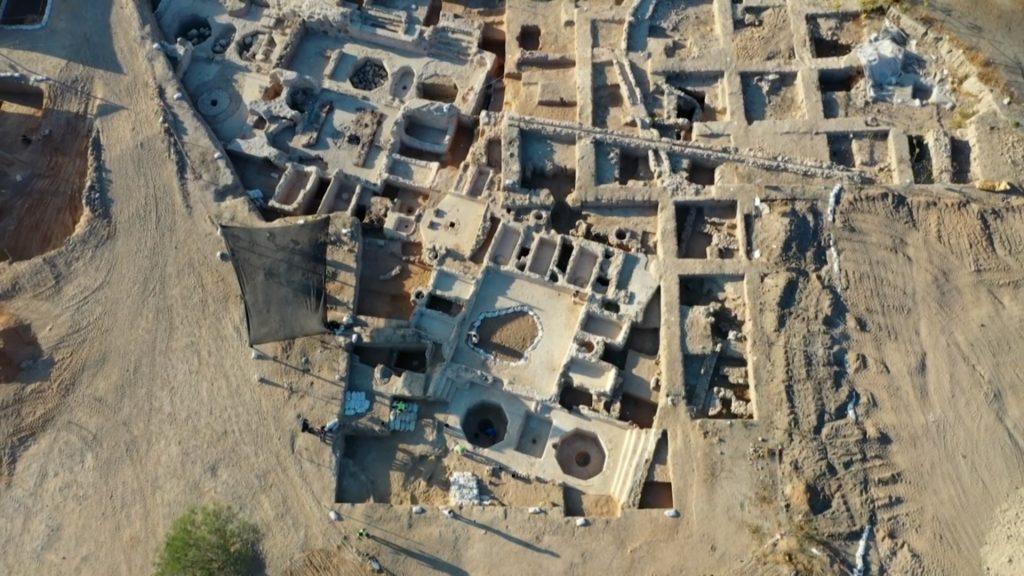 Arqueólogos descobrem vinícola de 1500 anos. Foto: Ahikam Seri / © Agence France-Presse