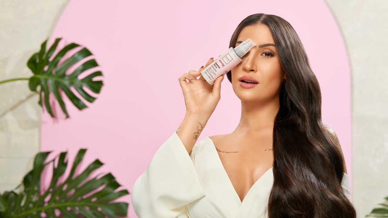 Boca Rosa lança nova linha de produtos para cabelos
