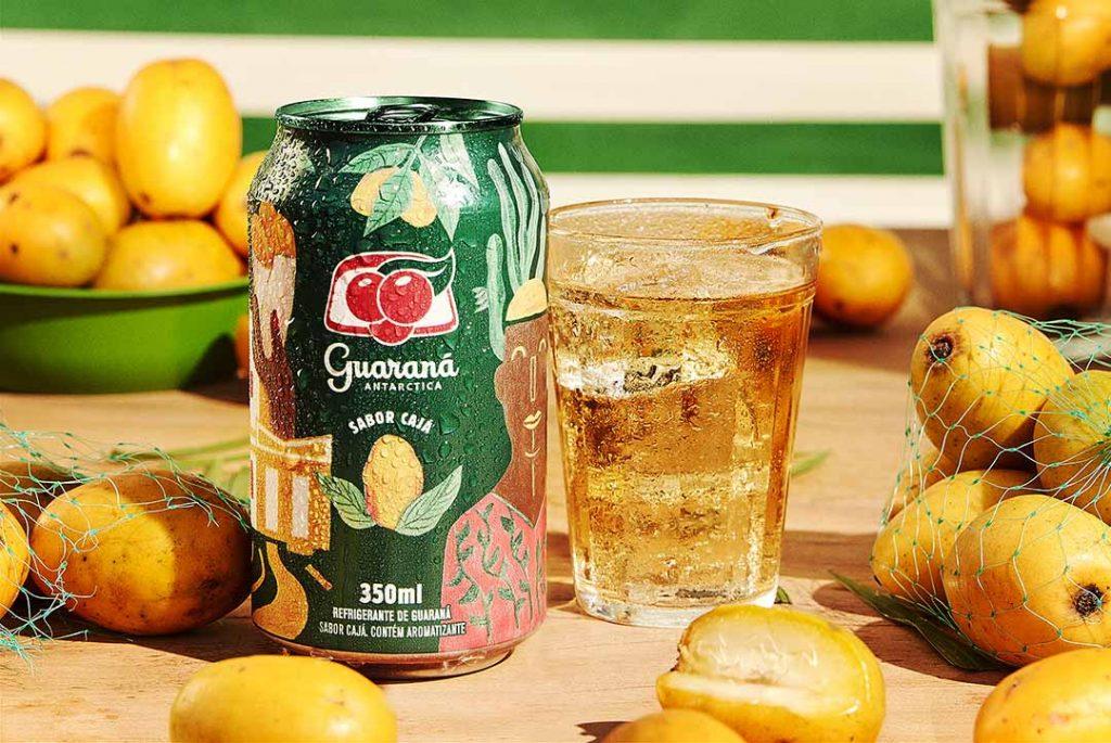 Guaraná sabor Cajá. Foto: Divulgação