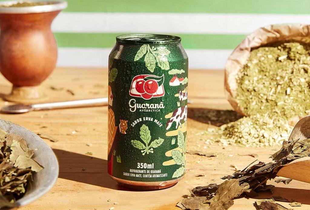Guaraná sabor Mate. Foto: Divulgação