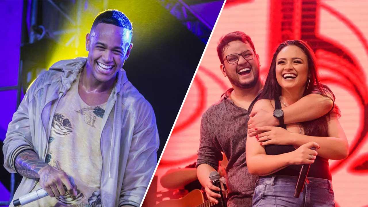 Luiza & Maurilio e Léo Santana desembarcam no Cafe de La Musique neste final de semana