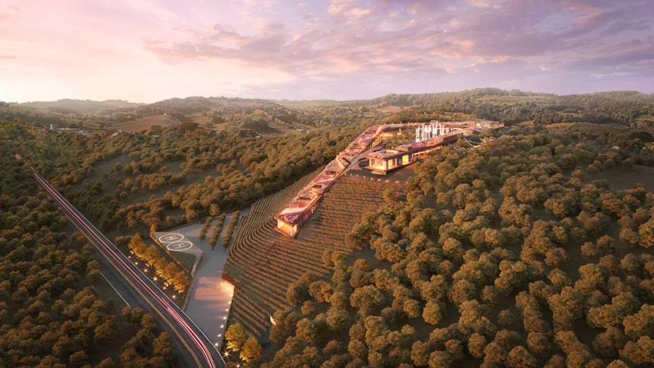 Enoturismo: Serra Gaúcha terá resort temático com maior piscina com borda infinita do mundo