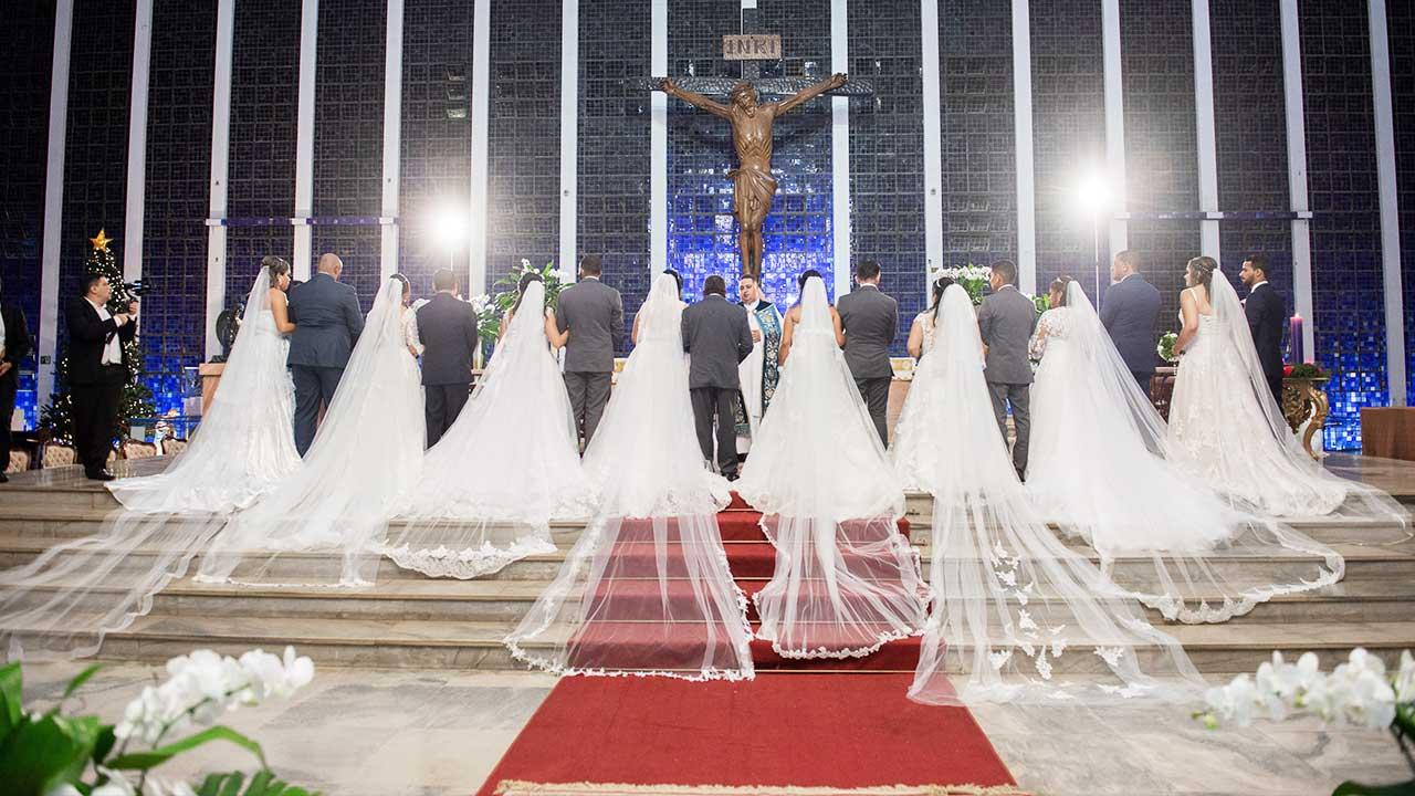 Casamento comunitário: inscrições abertas para cerimônia gratuita no DF até 5 de novembro