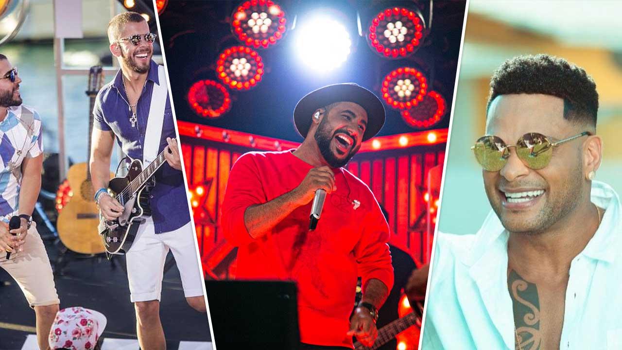 Raí Saia Rodada, Rafa e Pipo, Parangolé sobem ao palco do Cafe de La Musique Brasília neste final de semana